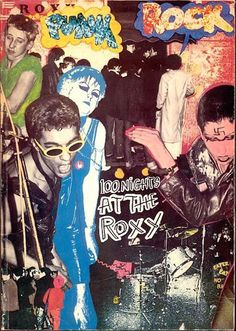 Punk posters from London's legendary Roxy club | Dangerous Minds