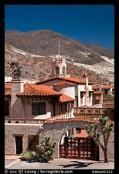 Scotty's Castle Death Valley CA. this place is ridic. it's not a necessity but it's really cool