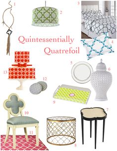 Quintessentially Quatrefoil! | Amy Atlas Events