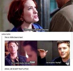 Supernatural: He's not that little!