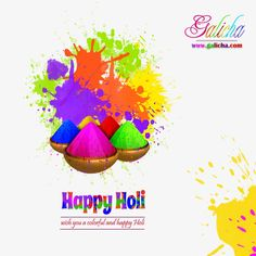 May you have the most blessed holi festival than you ever had. May it be full of fun,joy and love. May you be as colorful as the festival itself or even more. #HappyHoli