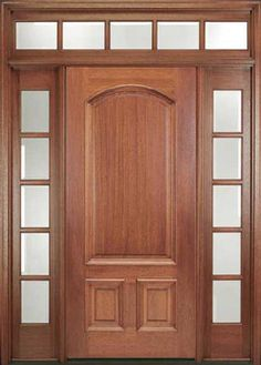 Is A Front Door Makeover Right For You Front Door Design Entrance Doors And Brown House