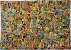 "Maryline Collioud-Robert, ""Trous de mémoire"", art quilt, Quilt National"