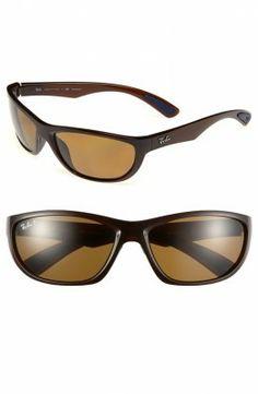 f7b2efcbfdf8d Óculos Ray Ban Polarized Sunglasses Tortoise 63mm  Oculos  RayBan Óculos  Masculino, Oculos De