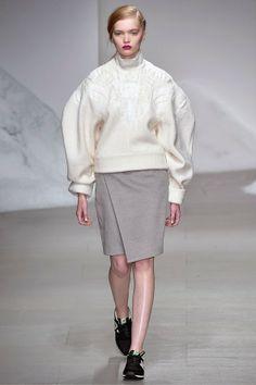 Ruth Bell for Simon Gao, London Fashion Week A/W14
