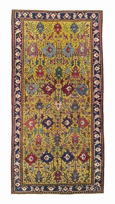 NORTH WEST PERSIAN KELLEH  LATE 18TH CENTURY    12ft.2in. x 6ft.1in. (370cm. x 184cm.)