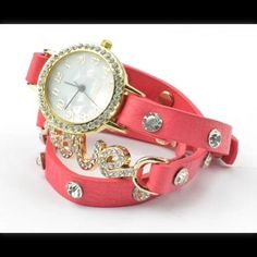 Reducedleather Watch Bangle