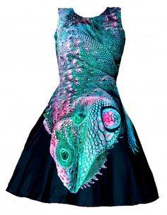 Lizard King pin-up dress  #brzozowskafashion #dress #moda #modakobieca #nadruk #nadruki #sukienka #motyw #jaszczurki #jaszczurka #sukienki #legwan #nadruki #autorskie #dress #print #unique #highfashion #lizard #iguana #skin #streetwear #streetstyle #streetfashion