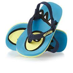 4967742ab61c Boy s Animal Flip Flops - Animal Toddler Goofey Flip Flops - Cyan Blue