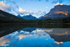 Stock Photo : Fortress Mountain and Mount Kidd reflected in Wedge Pond, Kananaskis Country, Alberta, Canada Alberta Canada, Wilderness, Pond, Reflection, Wedge, Stock Photos, Mountains, Country, Photography