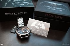 Batman V Superman Dawn Of Justice Limited Edition Police Watches