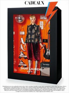 Italian photographer Giampaolo Sgura has put together a photo shoot for the Vogue Paris December/January 2015 issue with supermodels posing as life sized Barbie dolls in designer commercial packaging. Photos by Giampaolo Sgura for Vogue Paris. Vogue Paris, Vogue Fashion, Look Fashion, Fashion Dolls, High Fashion, Paris Fashion, Trendy Fashion, Fashion News, Fashion Art