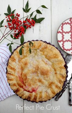 How to Make the Perfect Pie Crust  via lifeingrace (Also, cherry pie recipe!)