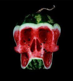 Dimitri-Tsykalov-watermelon-skull