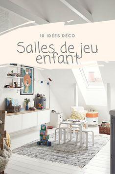 10 idées déco pour la salle de jeux des enfants