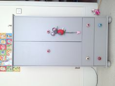 My daughters wardrobe I revamped with Farrow and Ball paint