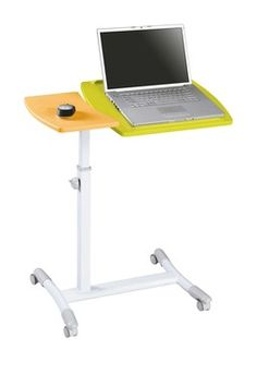 Vibrant Laptop Computer Stand with Adjustable Height and Split Top  I NEED THIS BADLY LOL