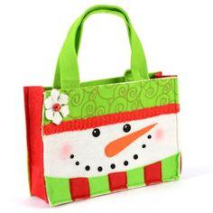 Snowman Felt Bag | Kirkland's