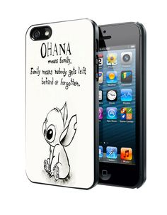 Lilo Series Ohana Lilo And Stitch Samsung Galaxy S3 S4 S5 Note 3 Case, Iphone 4 4S 5 5S 5C Case, Ipod Touch 4 5 Case