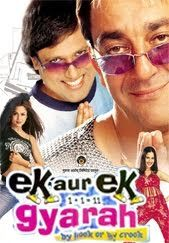 #EKAurEKGyarah - Enjoy the superhit Hindi comedy movie Ek Aur Ek Gyarah starring #SanjayDutt #Govinda #AmritaArora #NandiniSingh #JackieShroff exclusively on #MyBollywoodStars