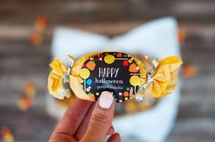 Halloween Treat Bags with Tiny Prints stickers