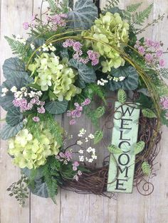 A personal favorite from my Etsy shop https://www.etsy.com/listing/605676187/spring-wreath-summer-wreath-front-door