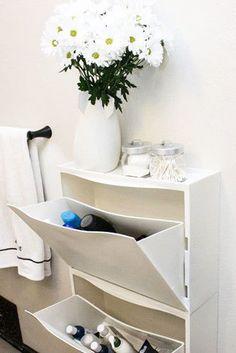 Secret Hideaway - The Best IKEA Bathroom Hacks From Pinterest - Photos