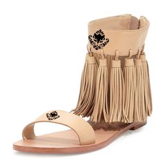 YDN Women Fringes Flats Tassels Open Toe Sandals Low-Heel Back Zipper Shoes Size 11. Fringes around ankle Strap looking like a HULA Skirt, wearing on it, you will dance unconsciously. Flat sandals supporting you from day to night with COMFORT,Back zipper making it easy for you to put on, Saving time for you. The Crown Print upper Boosting your DIGNITY and FEMININE Character. Super comfortable sandals with chic look for women, girls, varous color options, must have your favorite. All YDN...