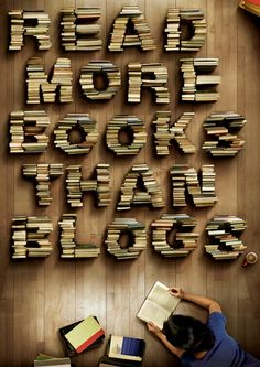 One day books will be obsolete. That will be a very sad day.
