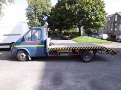 Ford Transit Recovery Truck for sale. Bullet proof banana engine. Completely refubished chassis. £2200