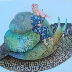 snail rider | by cate edwards