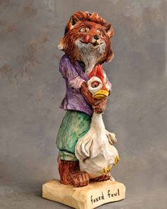 H2nd Place    Foxed Fowl  Bob Hershey - Lititz, PAershey01