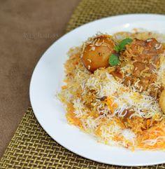 Lal Qila Restaurant's Mutton Biryani - Pakistani Style