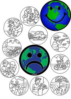 Earth Day Worksheets, Earth Day Activities, Nature Activities, Art Therapy Activities, Art Activities For Kids, Kindergarten Activities, Preschool Activities, Educational Games For Kids, Kids Learning