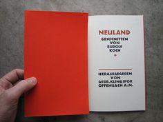 Rudolf Koch | Especímen de Neuland