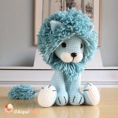 Lion crochet pattern amigurumi patterns pdf tutorial tyrion the lion Lion Crochet, Crochet Patterns Amigurumi, Cute Crochet, Amigurumi Doll, Crochet Animals, Crochet Crafts, Crochet Dolls, Amigurumi Tutorial, Crochet Unicorn