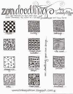 doodling instructions for kids - Google Search