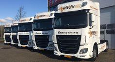 Visbeen breidt vloot uit met vijf nieuwe vrachtwagens