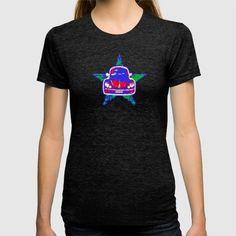 BEETLEBUG T-shirt @society6 #vwbeetle #star #retro #popart #cars #sixties #hippy #nostalgia #apparel #cooltees #tshirts #streetcool #urbanwear
