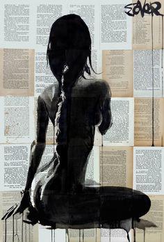 """Saatchi Art Artist Loui Jover; Drawing, """"crysalis"""" #art"""