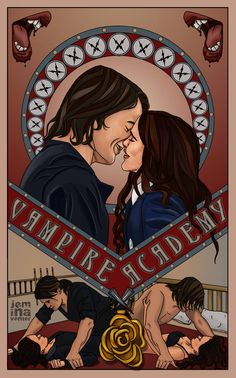 Vampire Academy Romitri Poster by jeminaboxYou can find Vampire academy and more on our website.Vampire Academy Romitri Poster by jeminabox Vampire Academy Tattoo, Vampire Academy Rose, Vampire Academy Books, Morganville Vampires, Rose Hathaway, Wattpad Book Covers, A Discovery Of Witches, Chronicles Of Narnia, Fanart