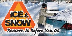 Ice & Snow - Remove It Before You Go from NJDOT