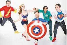 Big Bang Theory, Simon Helberg, Kaley Cuoco, Johnny Galecki,  Kunal Nayyar, Jim Parsons,
