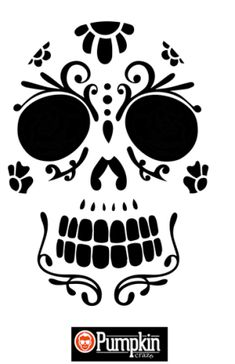 Sugar Skull Pattern
