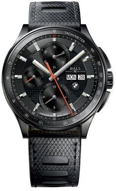 Ball Watch Company For BMW Chronograph DLC #bezel-fixed #bracelet-strap-rubber #brand-ball-watch-company #case-depth-16mm #case-material-black-pvd #case-width-44mm #chronograph-yes #cosc-yes #date-yes #day-yes #delivery-timescale-7-14-days #dial-colour-black #gender-mens #luxury #movement-automatic #official-stockist-for-ball-watch-company-watches #packaging-ball-watch-company-watch-packaging #subcat-ball-for-bmw #supplier-model-no-cm3010c-p1cj-bk…