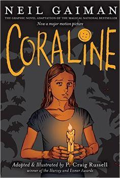 Un Rincón en el Norte: Reseña || Coraline, de Neil Gaiman y P. Craig Russell