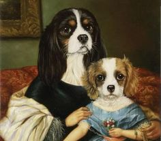 Pinzellades al món: Els gossos en l'art / Los perros en el arte / Dogs in art...