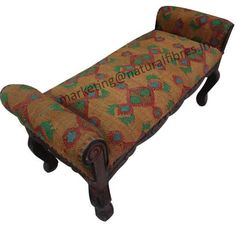 Upholstered handmade benches