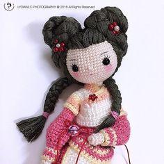 Weibo crochet activity ~ 襄玲 Xiang Ling Pattern by: 灬九夏
