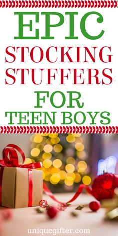 Gifts For Boys Teens Christmas Stocking Stuffers 48 Ideas - Weihnachten Christmas Gifts For Teenagers, Gifts For Teen Boys, Cheap Christmas Gifts, Tween Gifts, Christmas Stocking Fillers, Birthday Gifts For Teens, Kids Gifts, Christmas Presents, Stocking Fillers For Teenagers